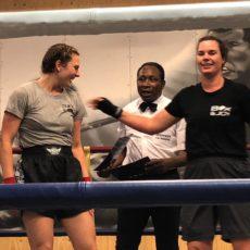 Het gevecht in vier rondes (Majella 1 wint met 1-3)