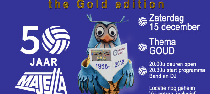 Lustrumfeest – The Gold Edition