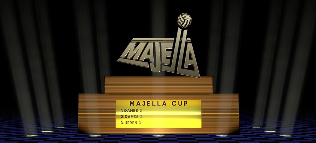 Dames 3 wint de Majella Cup 2018-2019!